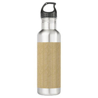 Traditioneller Bambus Edelstahlflasche