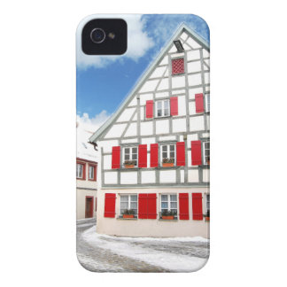 Traditionelles bayerisches Haus iPhone 4 Hülle