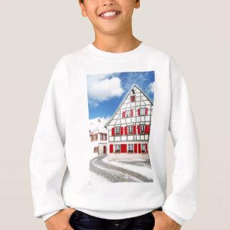 Traditionelles bayerisches Haus Sweatshirt