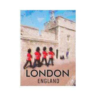 Traditionelles London Leinwanddruck