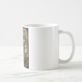 Traditionelles rotes Telefon Kaffeetasse