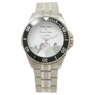 Traditionelles schottisches und keltisches armbanduhr