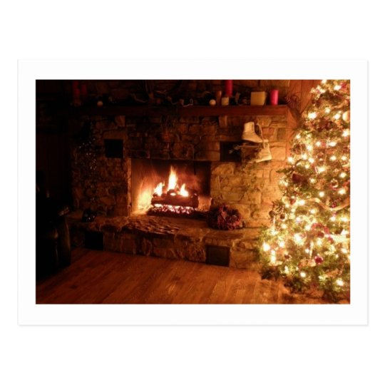 traditionelles weihnachten postkarte zazzle. Black Bedroom Furniture Sets. Home Design Ideas