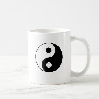 Traditionelles Yin Yang Kaffeetasse
