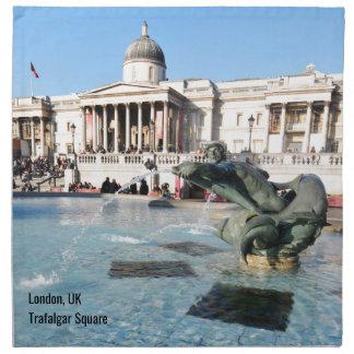 Trafalgar-Platz in London, Großbritannien Serviette