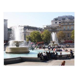 Trafalgar-Platz Postkarte