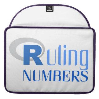 Tragbare Hülle für numbers von Ruling MacBook Pro Sleeve
