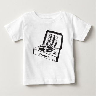 tragbare Turntable Baby T-shirt
