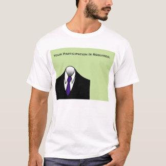 Tragbares U schulden T-Shirt