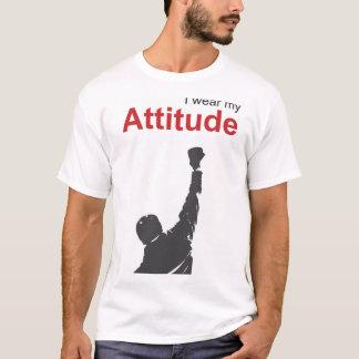 Tragen Sie Ihre Haltung mit einer felsigen T-Shirt
