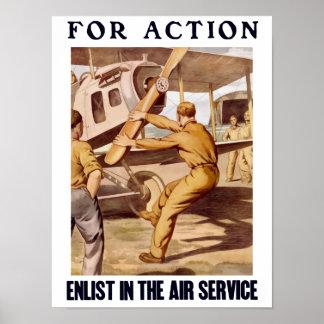 Tragen Sie im Fluglinienverkehr ein Poster