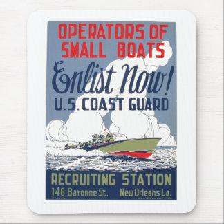 Tragen Sie jetzt ein! US Küstenwache Mauspads