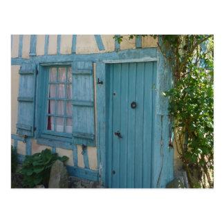 Tragen Sie und Fenster - Door windowsand Postkarte