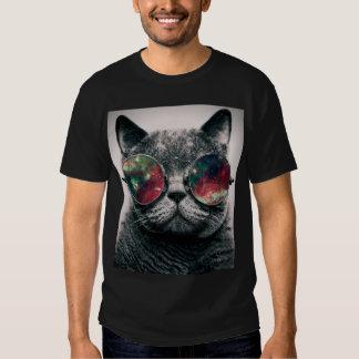tragende Sonnenbrille der Katze Shirt