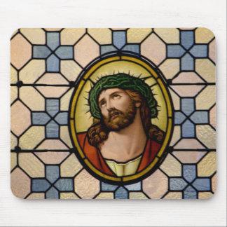 Tragendes Jesuss Dornenkrone Mousepad