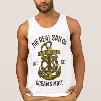 Trägershirt der Ozean-Geist-Männer Baumwoll Tank Top