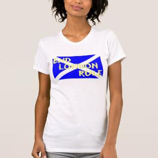 Trägershirt Enden-London-Regel-Dame T-Shirt