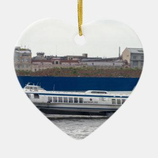 Tragflügelboot St Petersburg Russland Keramik Ornament