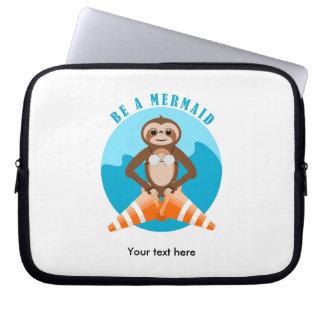 Trägheit ist eine Meerjungfrau Laptopschutzhülle