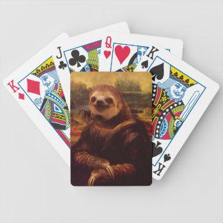 Trägheit Mona Lisa Bicycle Spielkarten