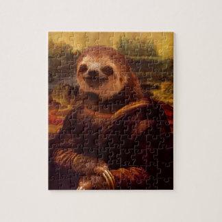 Trägheit Mona Lisa Puzzle