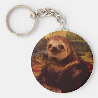Trägheit Mona Lisa Schlüsselanhänger