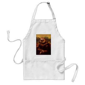 Trägheit Mona Lisa Schürze