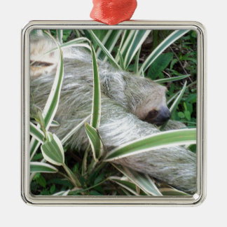 Trägheit Silbernes Ornament