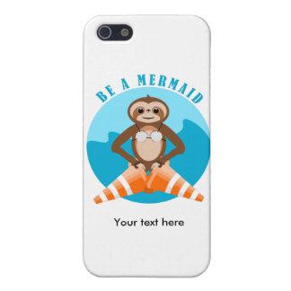 Trägheits-Meerjungfrau-Verkehrs-Kegel iPhone 5 Schutzhülle