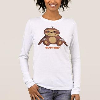 Trägheits-Pyjama-Spitze Langarm T-Shirt