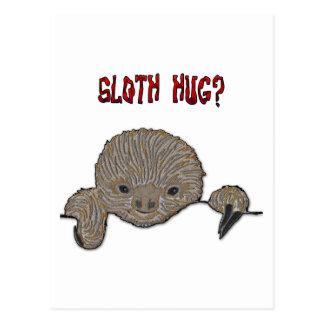 Trägheits-Umarmungs-Baby-Trägheit Postkarte
