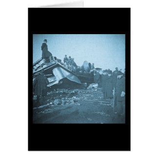 Tragischer Eisenbahn-Unfall in Farmington-Fluss Karte