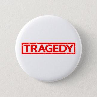Tragödie-Briefmarke Runder Button 5,1 Cm