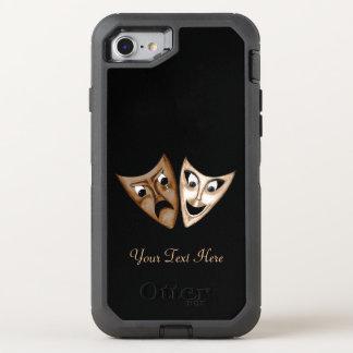 Tragödie u. Komödie OtterBox Defender iPhone 8/7 Hülle