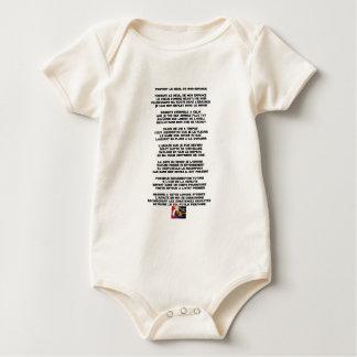 Trägt die Trauer meiner Kindheit - Gedicht Baby Strampler