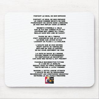 Trägt die Trauer meiner Kindheit - Gedicht Mousepads