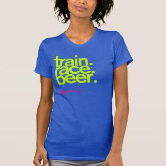 TRAIN.RACE.BEER. Das Trägershirt der Frau T-Shirt
