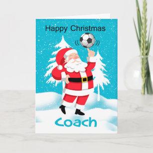 Weihnachtsgrüße Fussballtrainer.Weihnachtsgrüße Geschenke Zazzle De