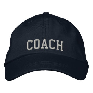 Trainer gestickter Hut Bestickte Baseballcaps
