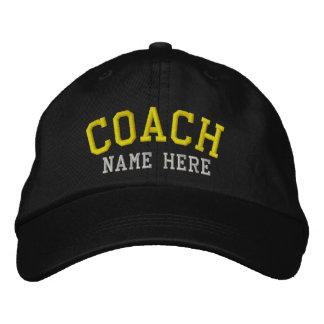 Trainer - kundengerecht bestickte kappe