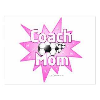Trainer-Mamma Postkarte