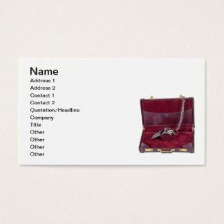 Trainer-Pfeife-Aktenkoffer Visitenkarte