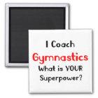 Trainergymnastik Quadratischer Magnet