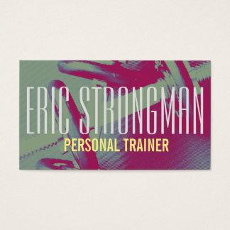 Trainerturnhallen-Artabdeckung der Fitness Visitenkarte