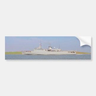 Trainings-Fregatte U27 Autoaufkleber