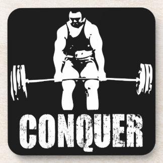 Trainings-Motivation Getränkeuntersetzer