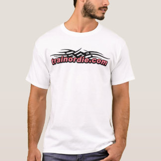 "Trainordie ""hardcore "" T-Shirt"