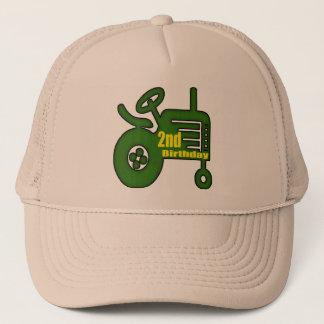 Traktor-2. Geburtstags-Geschenke Truckerkappe