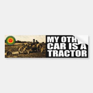 Traktor Autoaufkleber