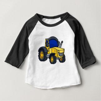 Traktor-Cartoon Baby T-shirt